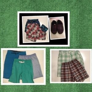 Boy's Shorts & Pajamas Lot